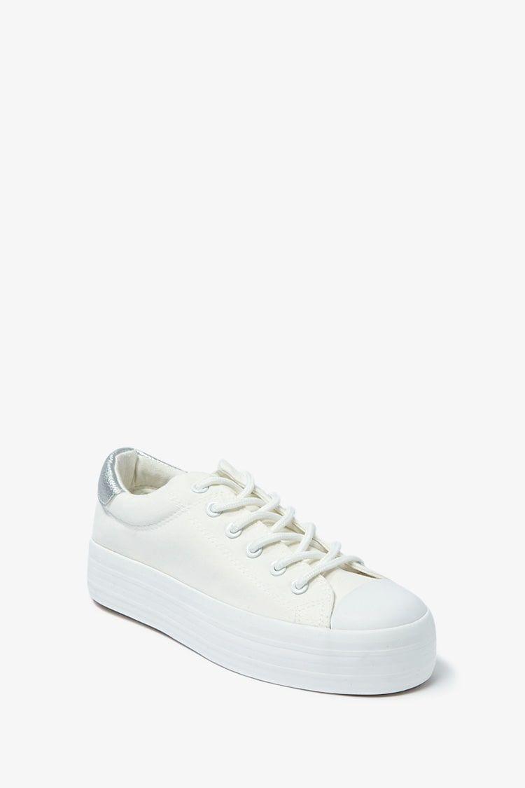 Canvas Platform Sneakers #Affiliate