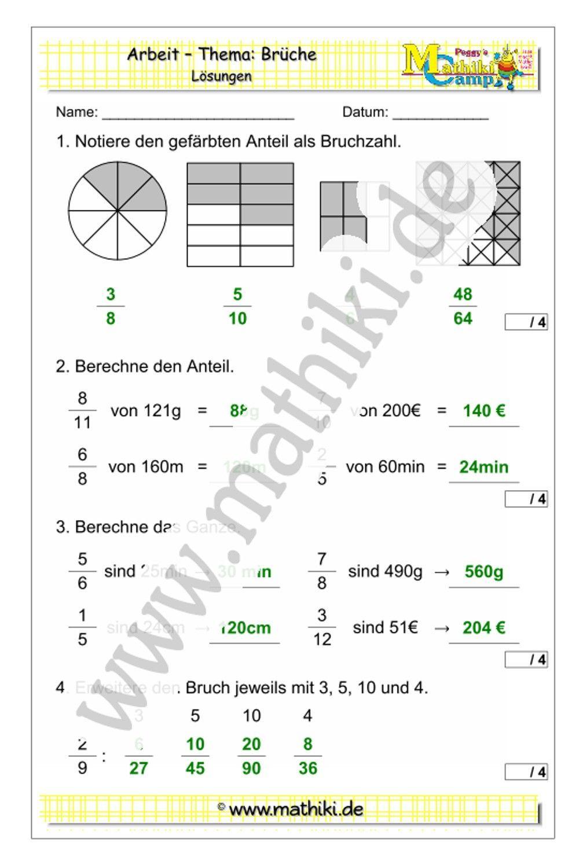 Mathearbeit Klasse 20/20   Klassenarbeiten mathe, Mathe, Mathe ...