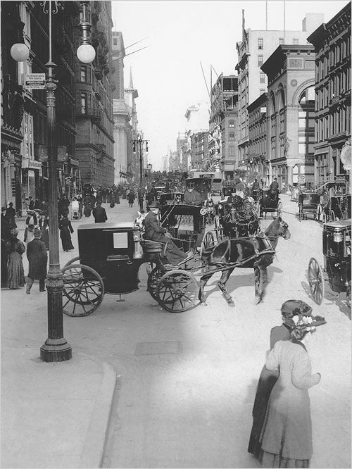 19th Century NYC. My how things change!