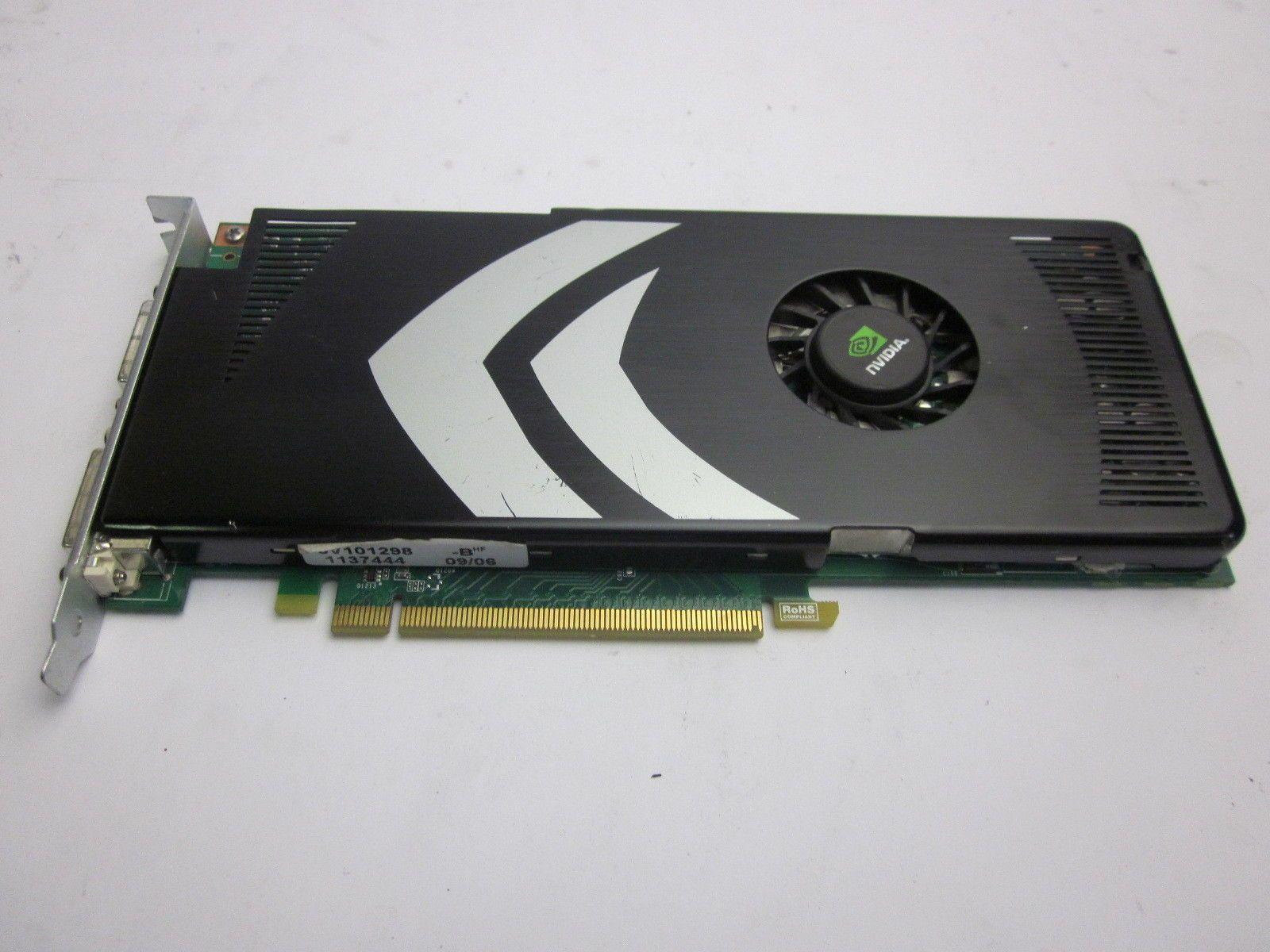 Dell 0J359K Nvidia GeForce 9800GT 512MB GDDR3 PCIe Dual DVI-I Video Card READ