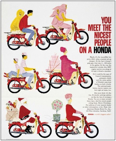 During The 1960s Honda Planted Its Brand In America With Slogan
