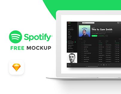 FREE SPOTIFY MOCKUP Free mockup, Business icon