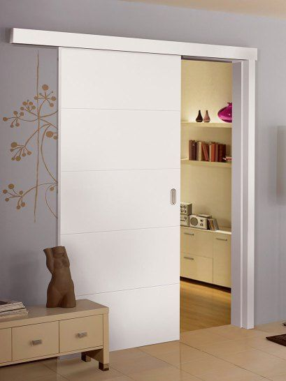 white painted doors with designs