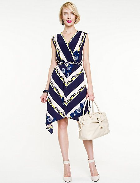 Great dress for a summer wedding!  Le Chateau