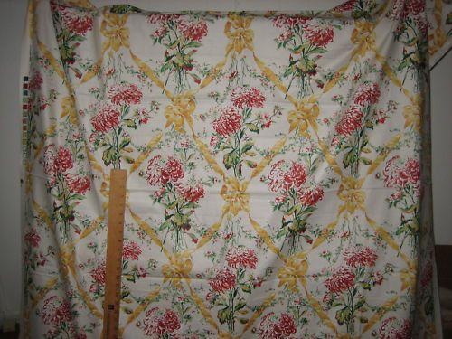 2 2 8 yds Cyrus Clark Cotton Upholstery Christina   eBay