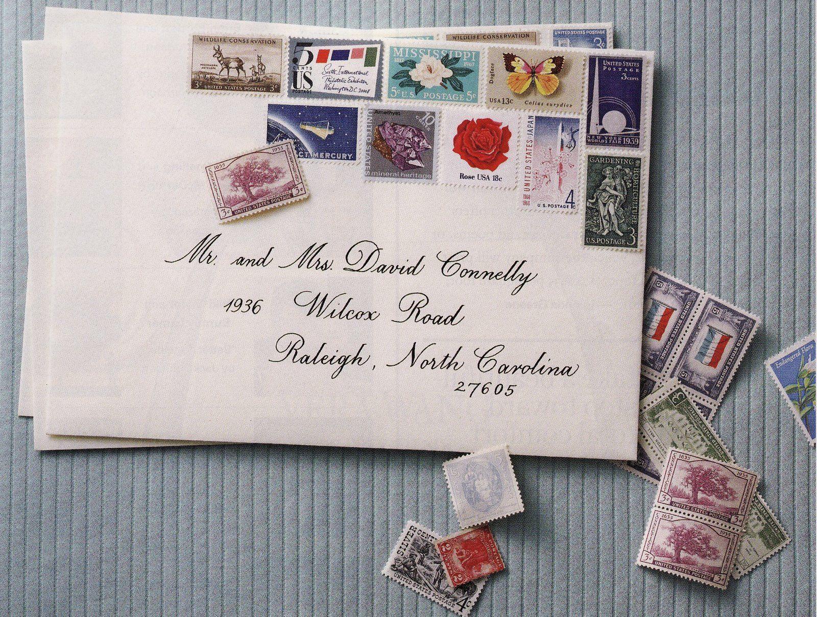 I Love Vintage Stamps The End Wedding Invitation Stamp Invitation Postage Wedding Invitation Postage