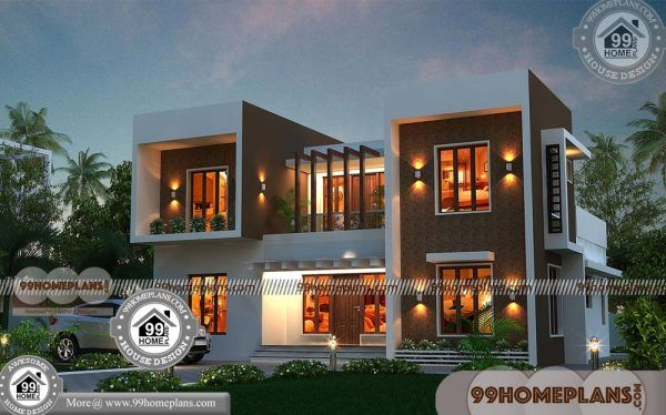 Amazing Modern House Designs 70+ 2 Storey House Complete Plans 5