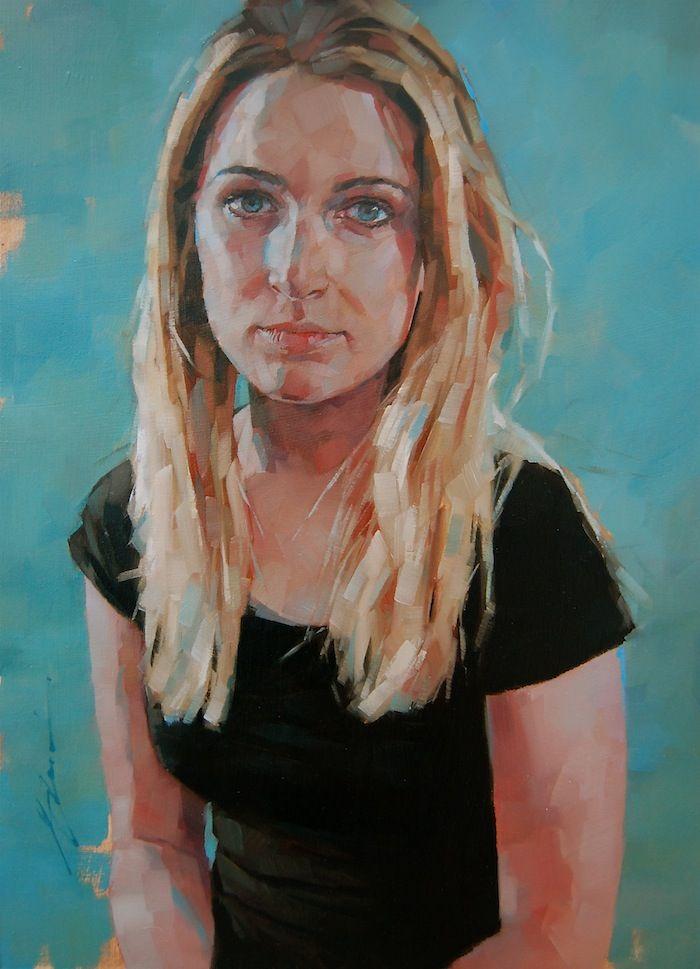 Simon Davis. Royal Society of Portrait Painters