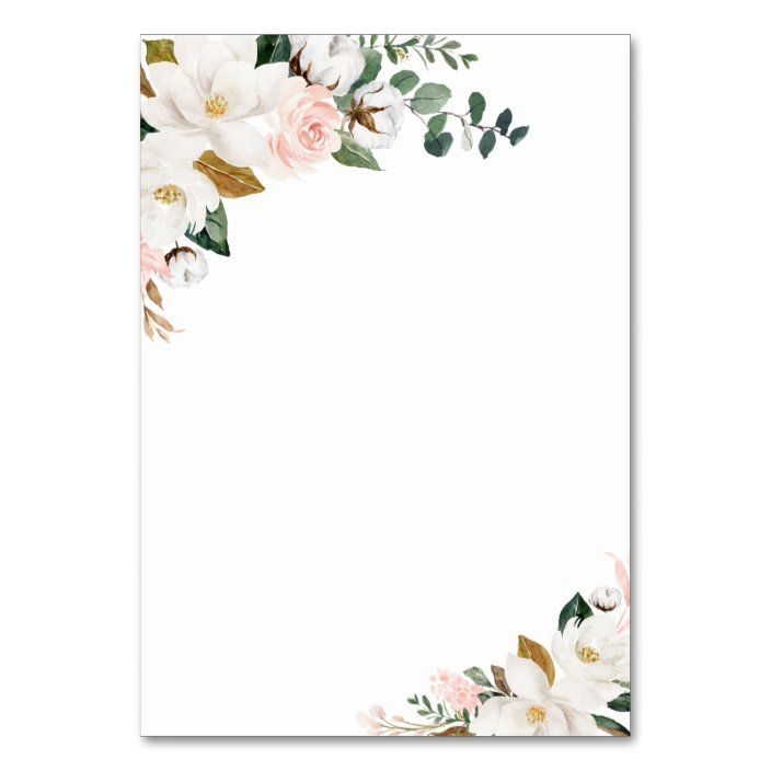 pink gold and white floral wedding enclosure cards