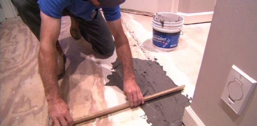 How To Level A Subfloor To Prepare For New Flooring Pinterest - Subfloor leveling techniques