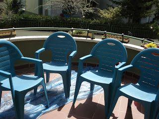 plastik sandalyelerde boyanabilir