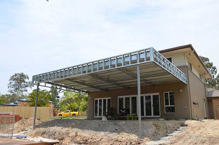 Skillion roof carport carports hip roof carports gable for Gable roof carport