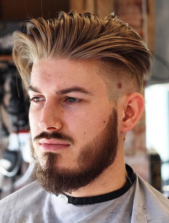 Stylish Long Slicked Back Undercut Hairstyles For Men 2017 2018