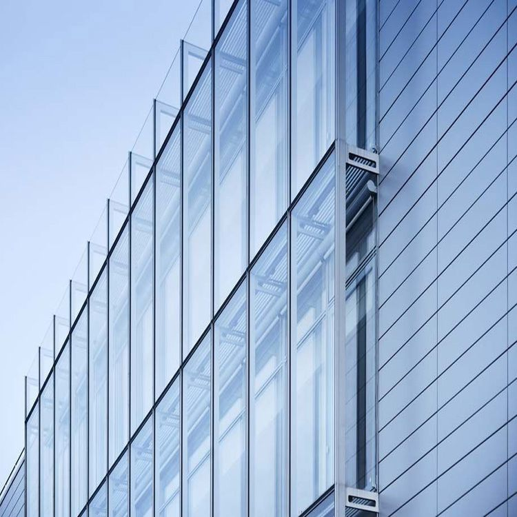 cheaper commercial building construction steel structure on curtain wall id=89084