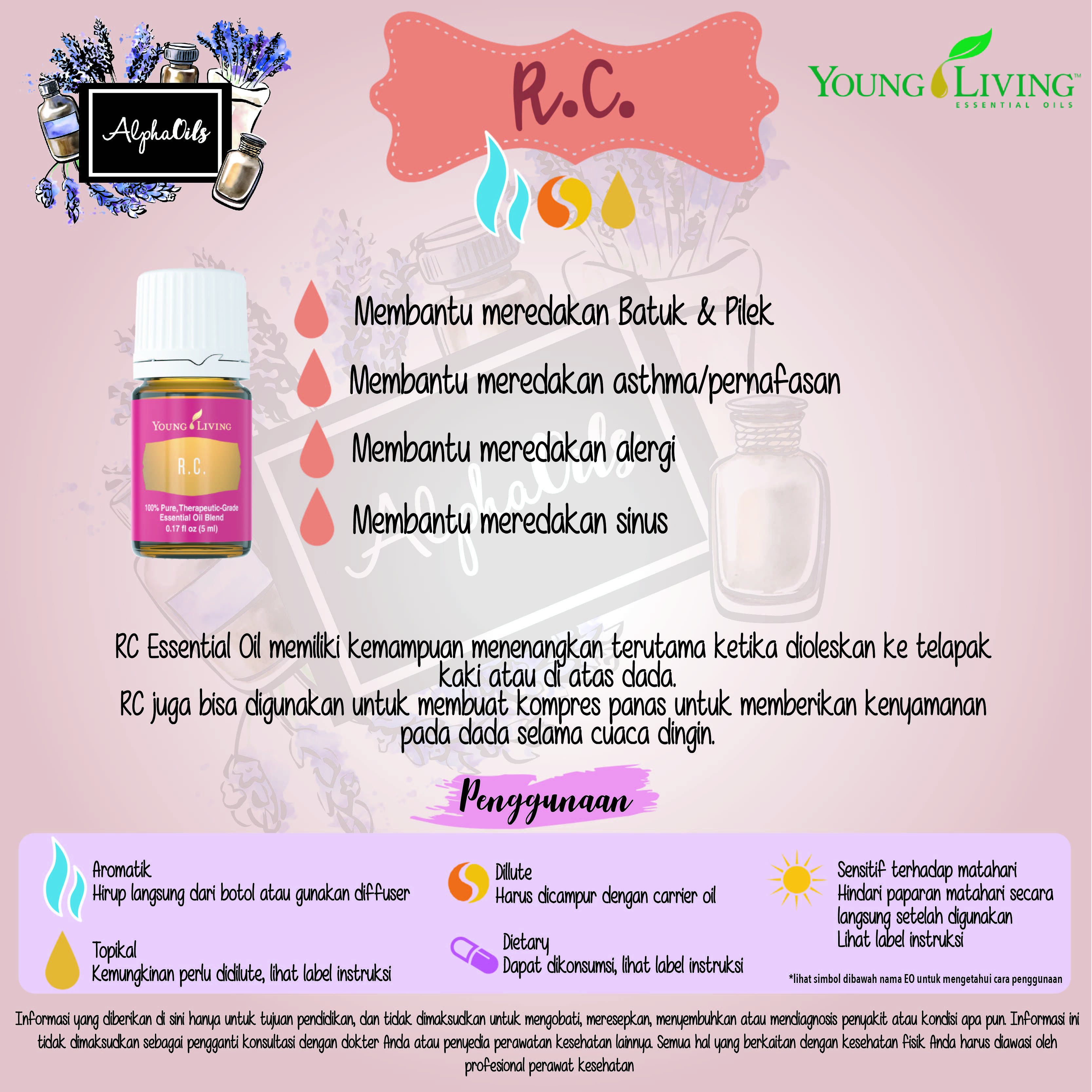 Pin Di Young Living Essential Oils