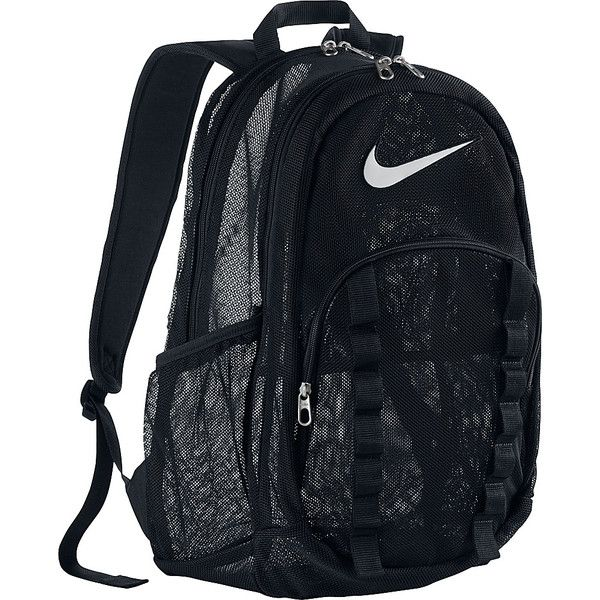4748566653 Nike Brasilia 7 Backpack Mesh Xl ( 50) ❤ liked on Polyvore featuring men s  fashion
