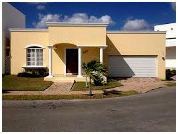 Fachadas de casas sencillas de un solo 614 463 deco ideas pinterest house - Fachadas de casas sencillas de un solo piso ...
