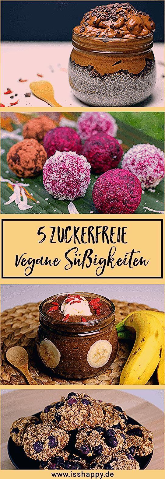 Photo of 5 gesunde Rezepte für vegane zuckerfreie Süßigkeiten