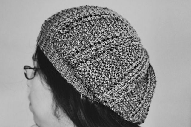 Knitting: Garter & Lace Hat By Lisa Gutierrez