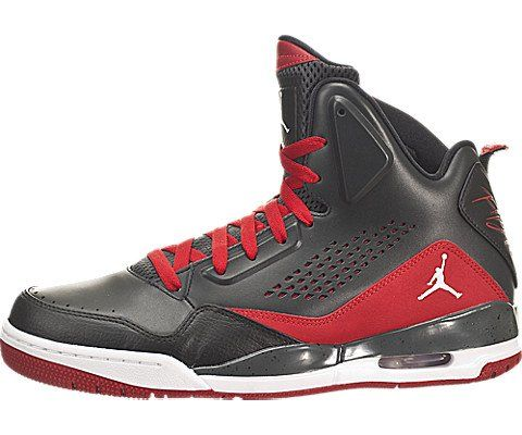 Nike Jordan Mens Jordan Anthracite/white/Black/Gym Red Basketball Shoe 12  Men US