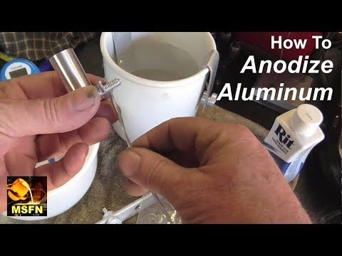 """Watch """"⚡️How To Anodize Aluminum Parts Easily In The Home ..."""