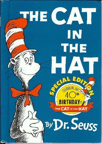The Cat In Hat By Dr Seuss Books For New Readerbeginning Readers Reading