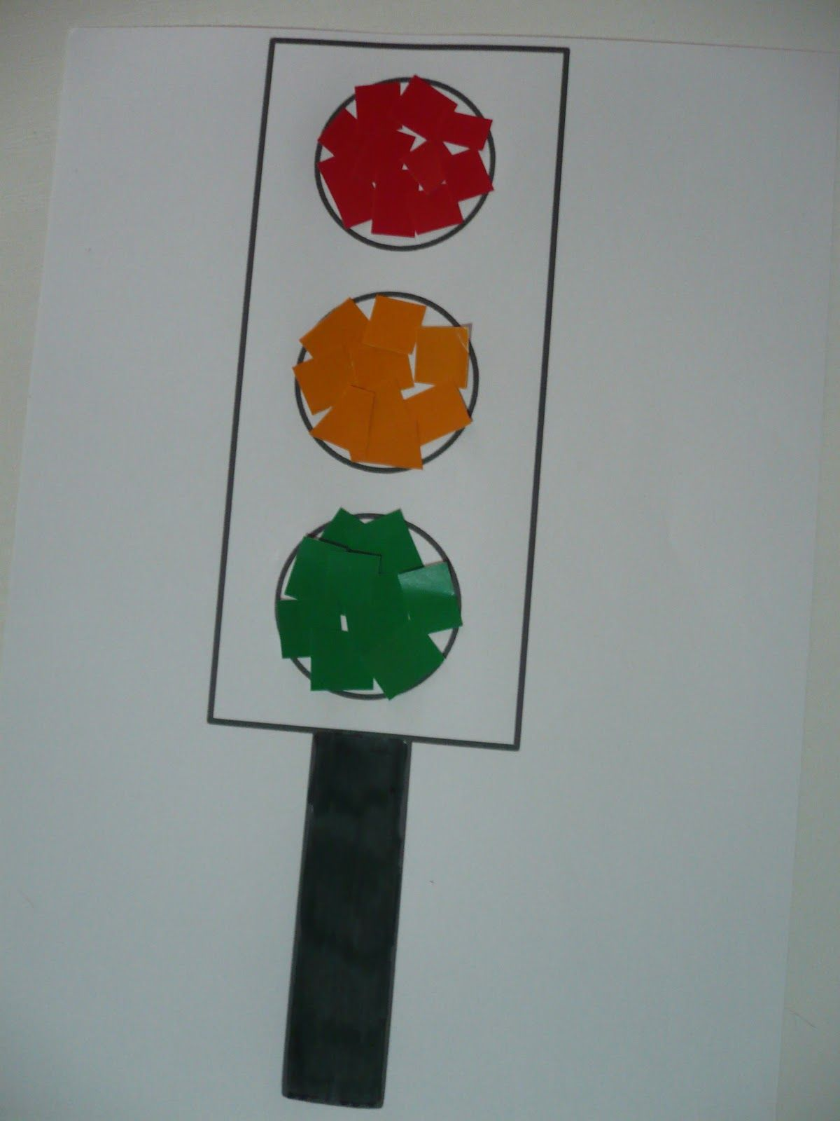 Объемная открытка светофор, день рождения альбина