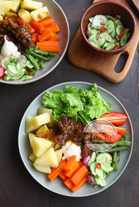 Selat Solo Indonesian Javanese Beef Salad Makanan Diet Makanan Sehat Resep Daging Sapi