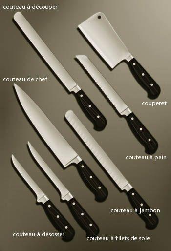 Couteaux De Cuisine Trois Suffisent Ustensile Cuisine Cuisine Couteau De Cuisine