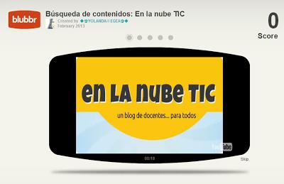 En la nube TIC: Blubbr: Crea cuestionarios interactivos con YouTube