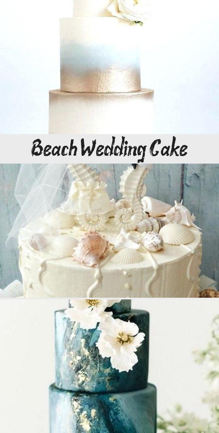 Beach Wedding Cake With Images Wedding Cake Flavors Beach