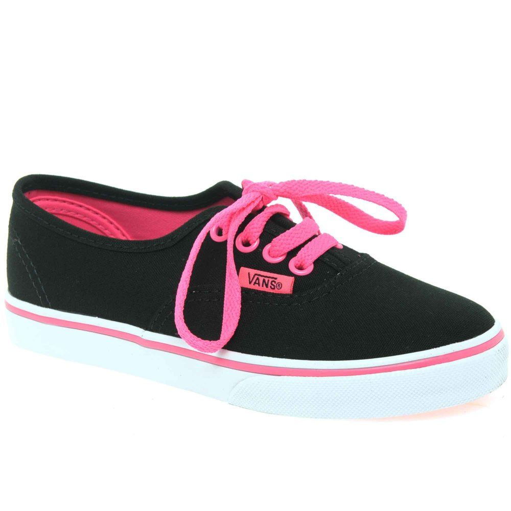 Girl s › Canvas › Vans Authentic Lo Pro Girls Lace Up Canvas Shoes d6a3a01c3