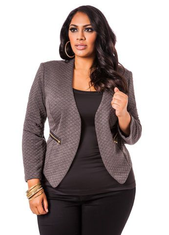 plus size quilted dress garment