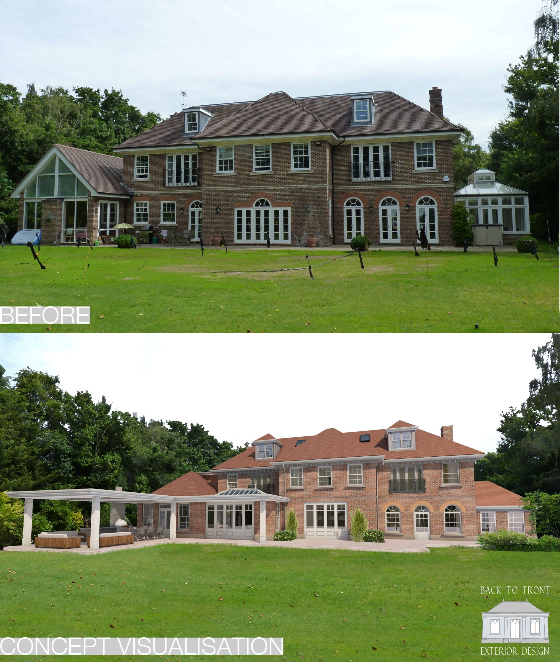 Remodelling Scheme in Surrey by Back to