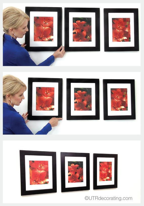 Tip Tuesday Spacing Frames Evenly Wall Art Placement