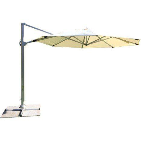 Parasol Anti Vent Easywind Mât Déporté écru Diam33 M