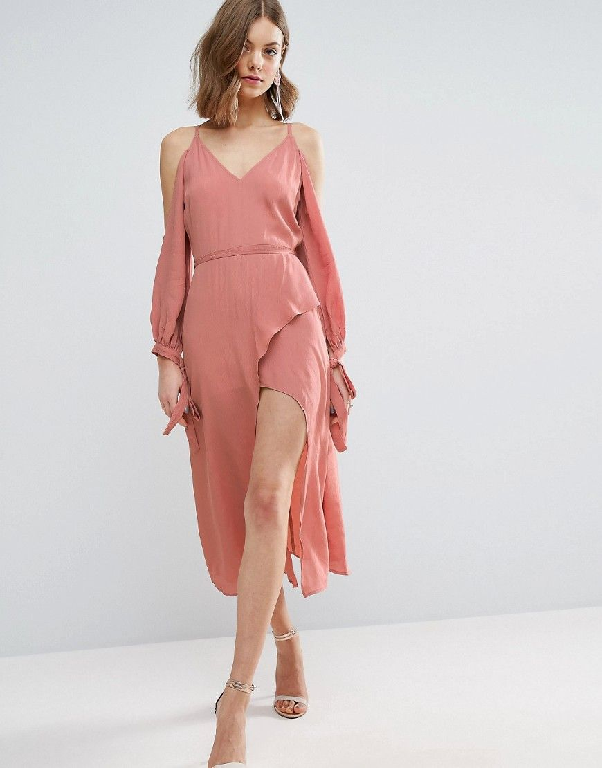 Asos wedding guest dresses with sleeves  Get this Asosus midi dress now Click for more details Worldwide