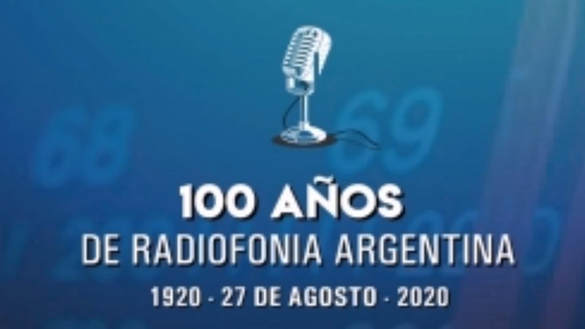 Los integrantes de YO SOY SALUDABLE 3.0 (RADIO) Saluda por los 100 años de RADIOFONIA ARGENTINA