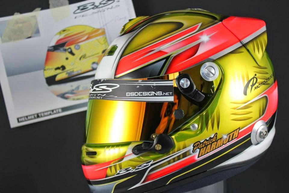 cool 2 car garage ideas - Racing Helmets Garage Helmet inspiration