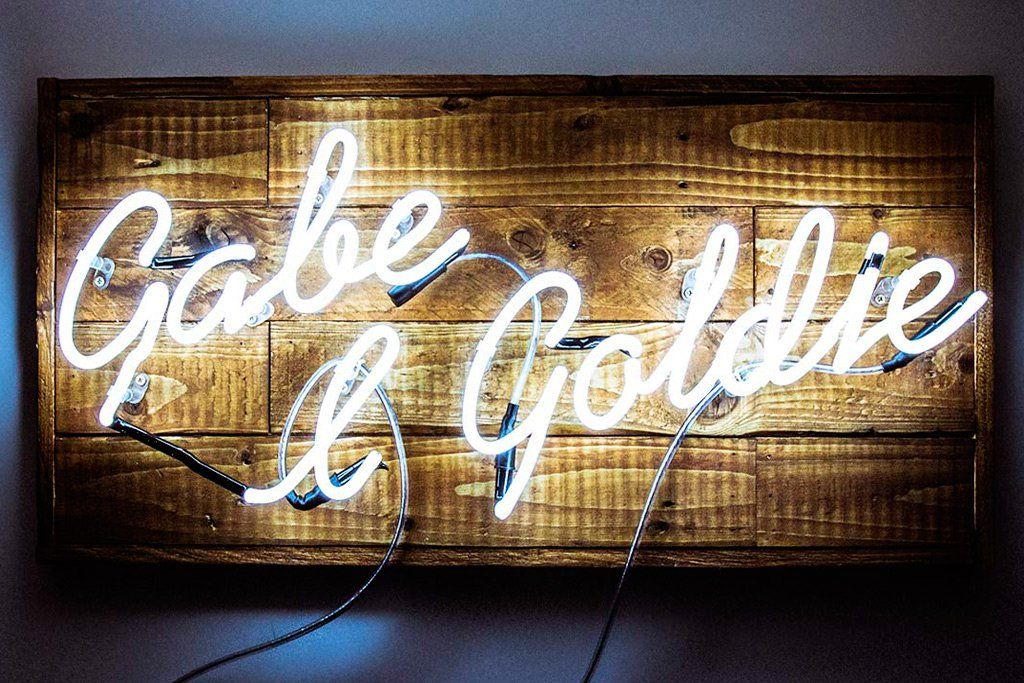 Gabe and goldie kemp london neon signs neon lights