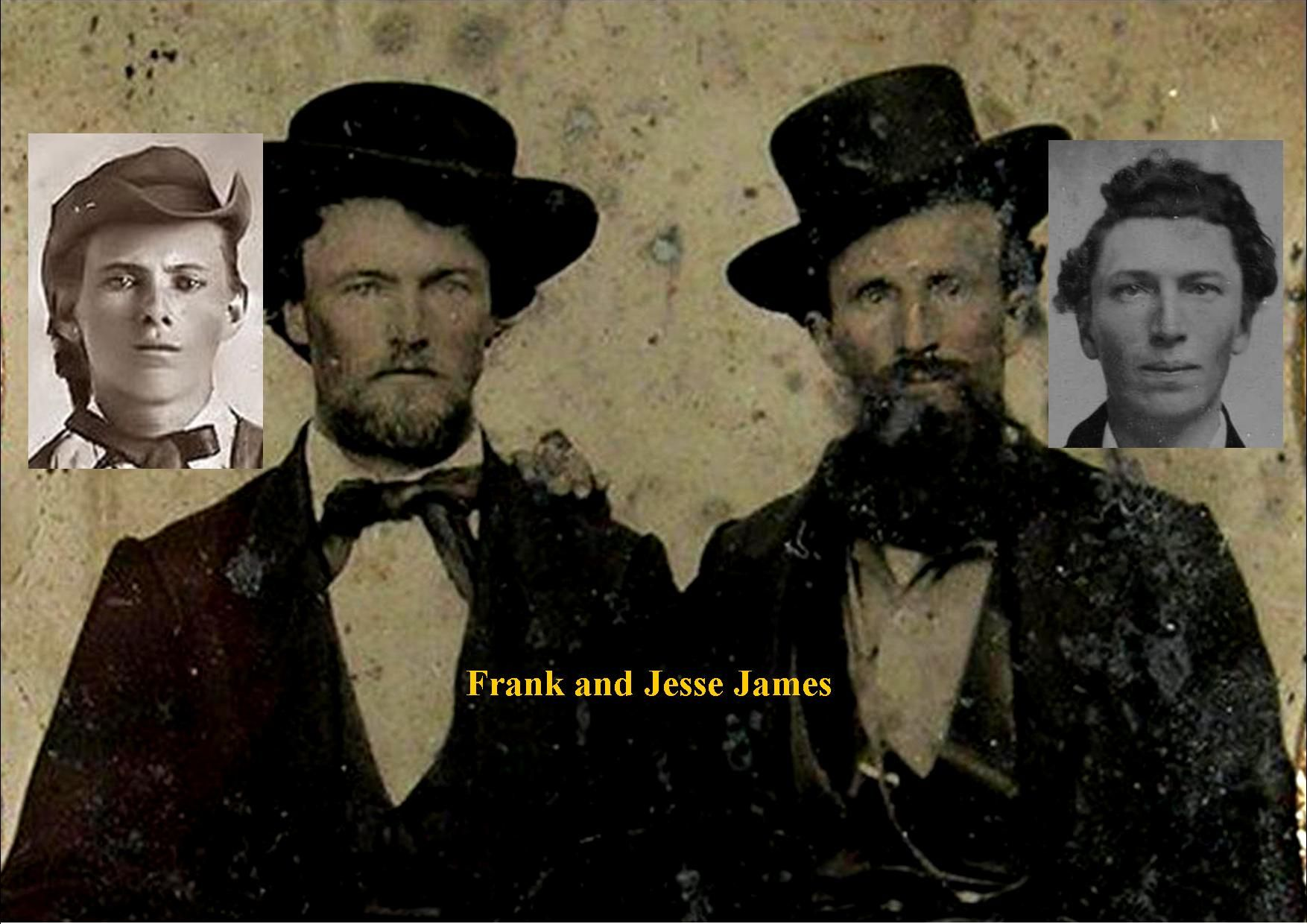 Southern Gents With Images Frank James Jesse James The Past