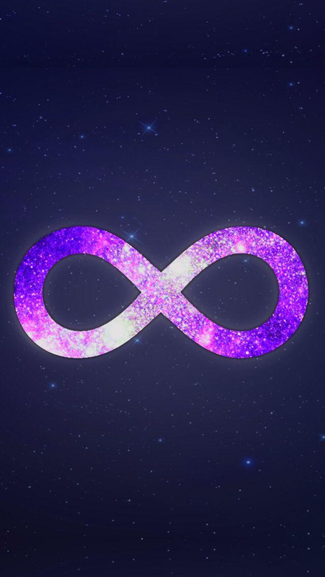 Galaxy infinity sign | Infinity