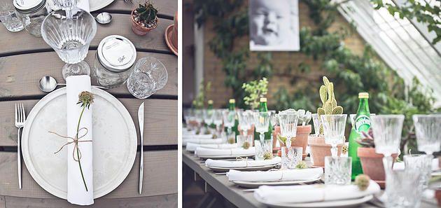 A table story l Serviceudlejning l København | BOTANISK NAVNEFEST