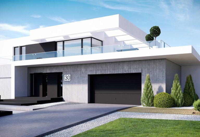 Bauhaus Einzelgarage, Doppelgarage, ohne Garage in 2019