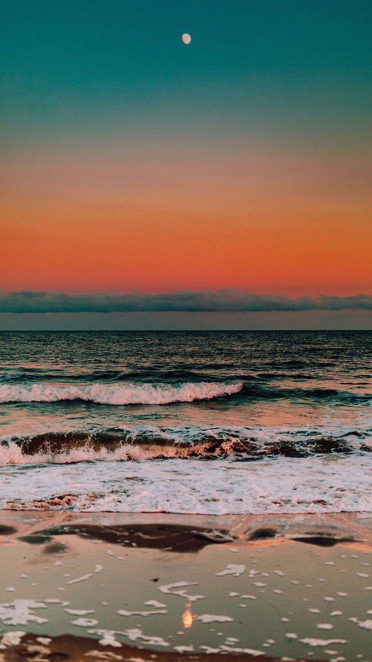 Beach Sunset Beach Pictures Wallpaper Aesthetic Backgrounds Ocean Wallpaper
