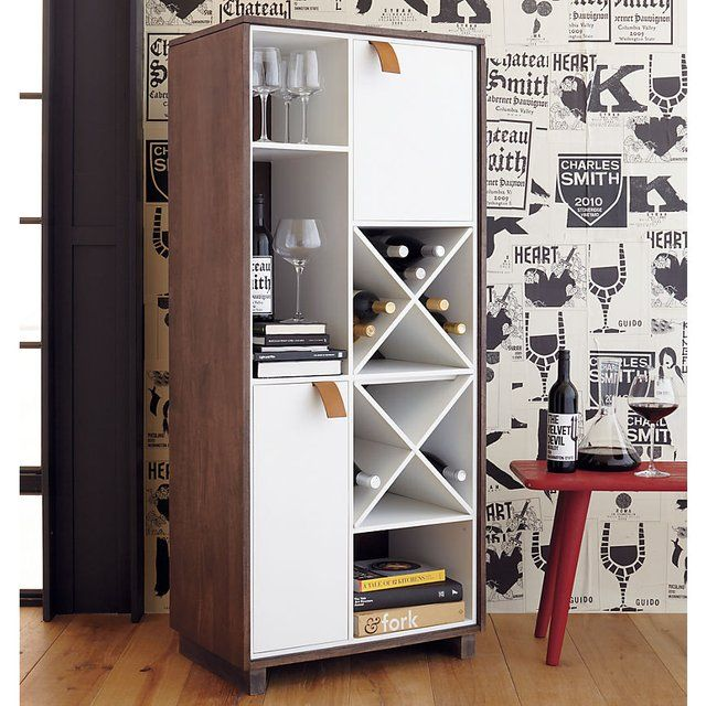 Fancy   Root Wine Cabinet In Storage | CB2 · Furniture For Small SpacesSpace  ...