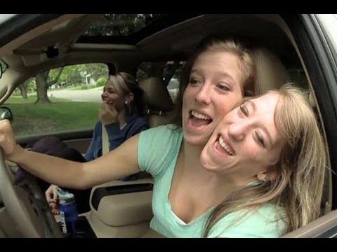 Taking a road trip with conjoined twins - BBC News