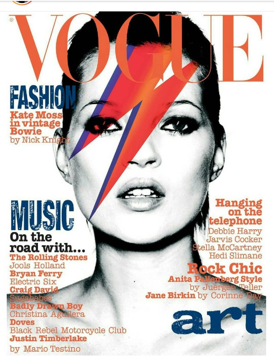 Kate Moss By Nick Knight For Vogue Uk May 2003 Vogue Covers