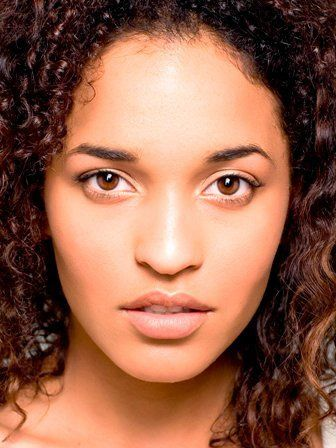 Jessica Blum, Model, headshot, photography, curly hair, african american model, mixed model, fashion, fashion photography, editorial, eyes, lips, nose, makeup