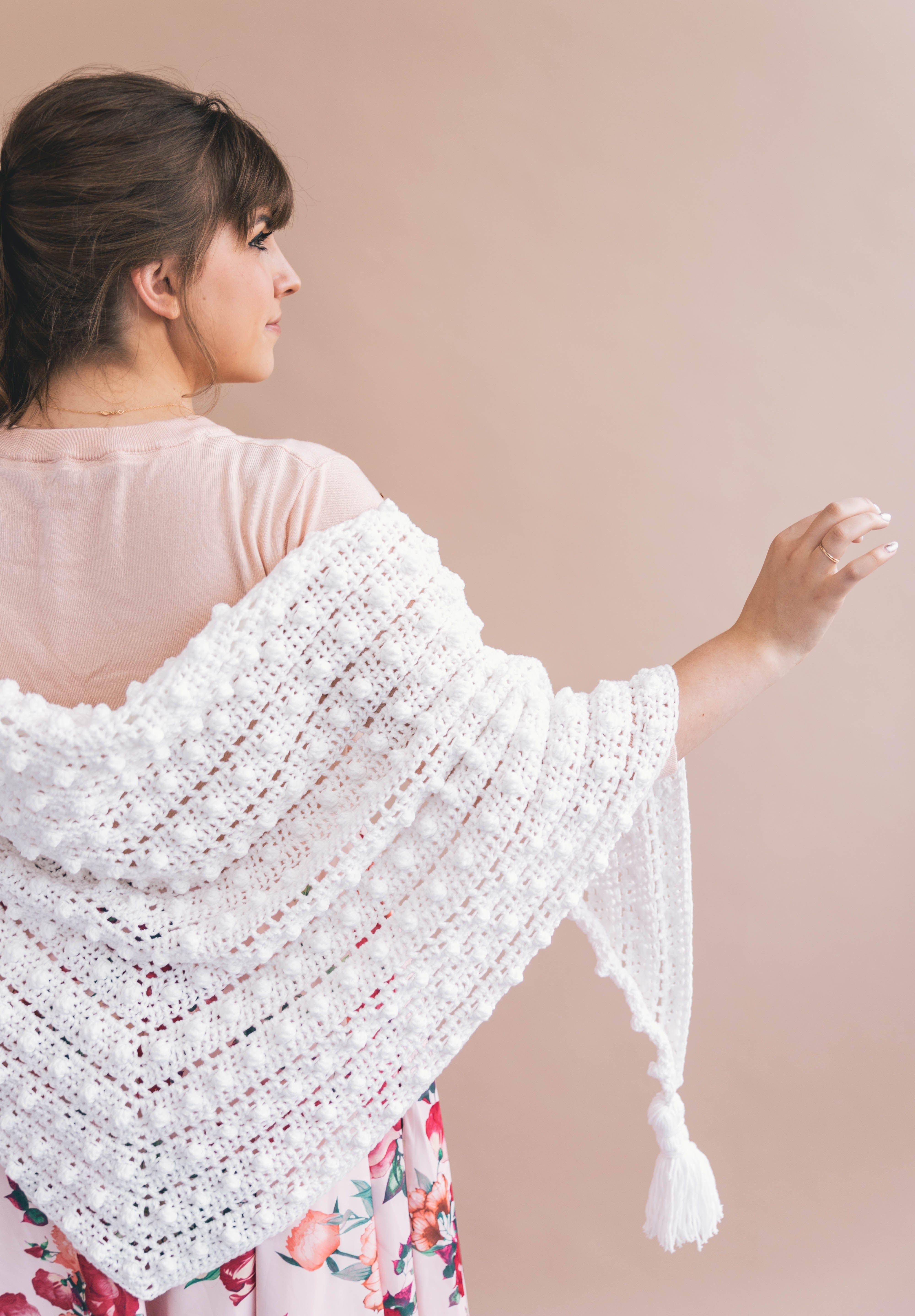 Crochet Le Nuage Wrap | Crochet&Knit to Wear | Pinterest | Chal